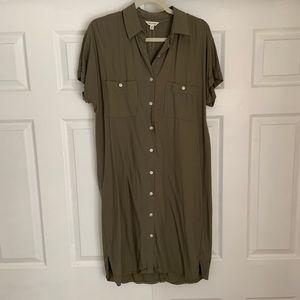 Max Studio button down dress (Nordstrom Rack)